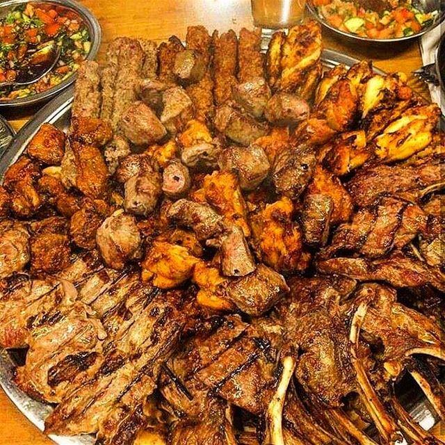 mashewe 🤤😍😍❤️❤️ الغربة_صعبة @beirutfood .. grillad lebanesegrill ... (Beirut, Lebanon)