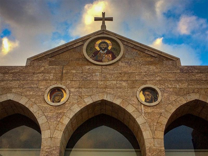 Saint John Baptist Convent- 📍Beit Mery, Phoenician Roman Village,... (Beit Meri, Mont-Liban, Lebanon)