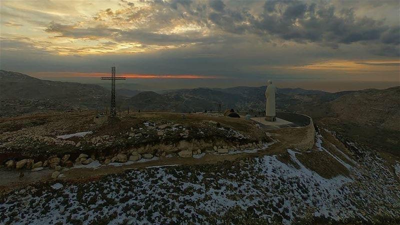 God bless you Have a great week..📷:@tawk.nicolas.. faraya ... (Faraya, Mont-Liban, Lebanon)