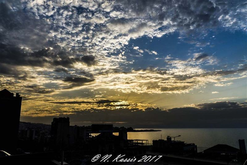sunset  sky  ig_great_shots  inspiring_photography_admired  ig_lebanon ... (Joünié)