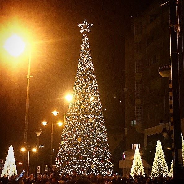 'Christmas is most truly Christmas when we celebrate it by giving the... (Sassine, Achrafieh)