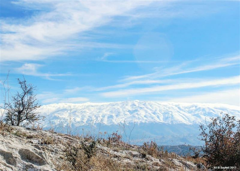 tb southlebanon winter mountains snow nature lebanon colorful ... (Mount Hermon)