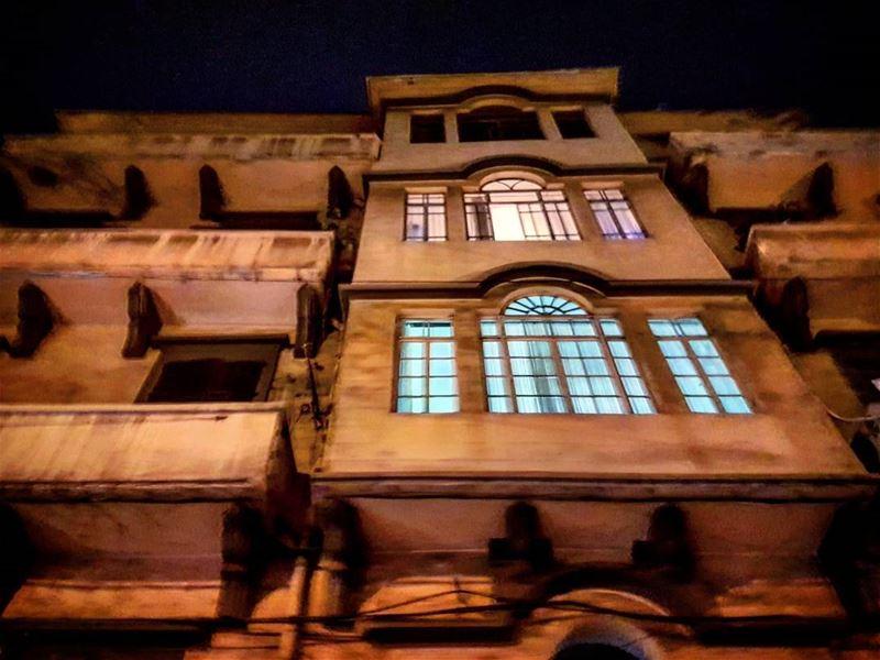 Mystère alwayslookingup mysterious nightlife citylife streetlife ... (Beirut, Lebanon)