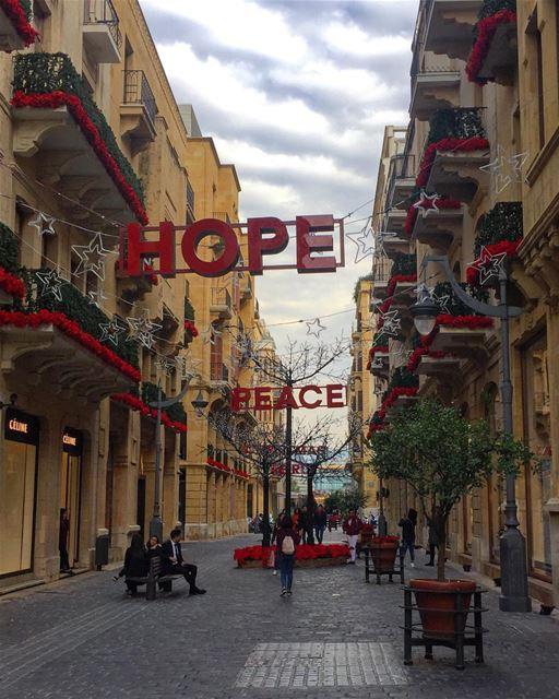 Hope....... beirut downtownbeirut lebanon beirutsouks ...