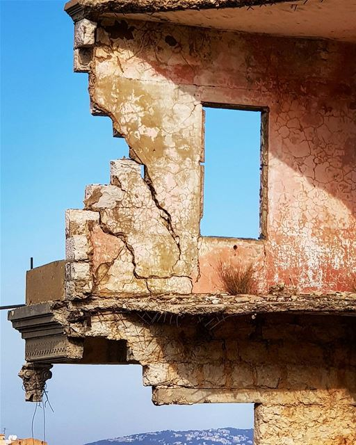 I See an Open Window.. A Blue Sky..And a Beautiful Old House....What do... (Bhamdoûn, Mont-Liban, Lebanon)