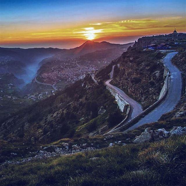 Series of heavenly wonders 💙💛Qannoubine Valley, Bcharre and Saydet el... (Qannoubine Valley)