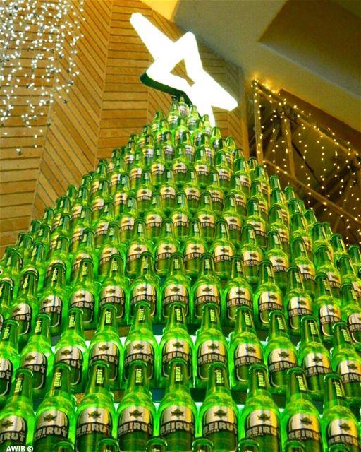 Beirut Beer Christmas tree beer christmas tree streetphotography ... (Beirut Souks)