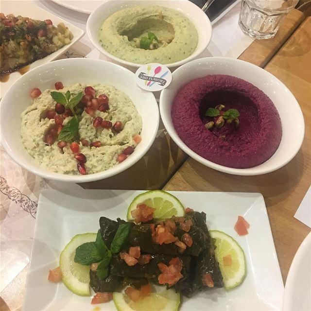 Tasty starts @dunyazadlb hamra ... 580flavors lebanesefood ... (Dunyazad Restaurant)