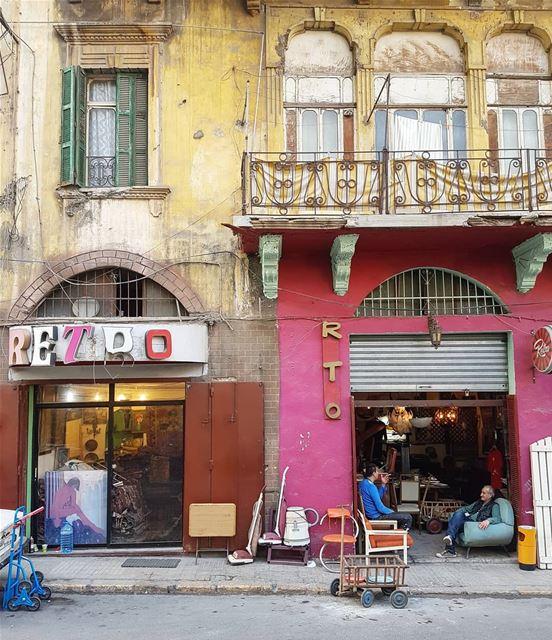 Retro Beirut ❤ (Beirut, Lebanon)