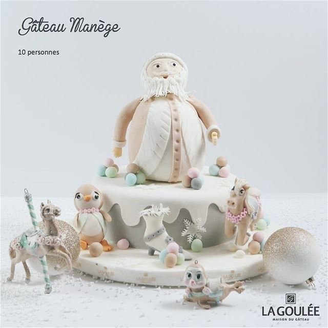 Repost @la.goulee・・・Introducing our handcrafted Christmas cakes for the... (La Goulee)