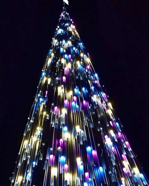 O christmas tree how lovely are thy branches byblos christmastree ... (Byblos, Lebanon)