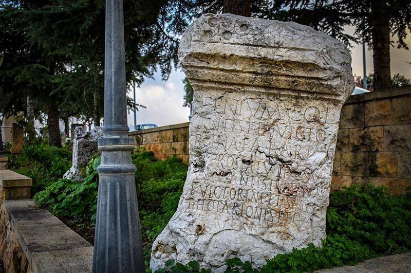 """Beit Mery / """"Beyto Moryo"""" is a Lebanese town overlooking the capital... (Beit Meri, Mont-Liban, Lebanon)"""