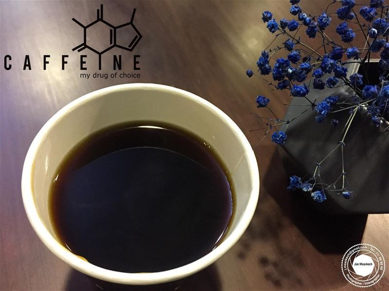 Black as night, sweet as sin! caffeinekuwait coffee coffeetime kuwait ... (Caffeine Kuwait)