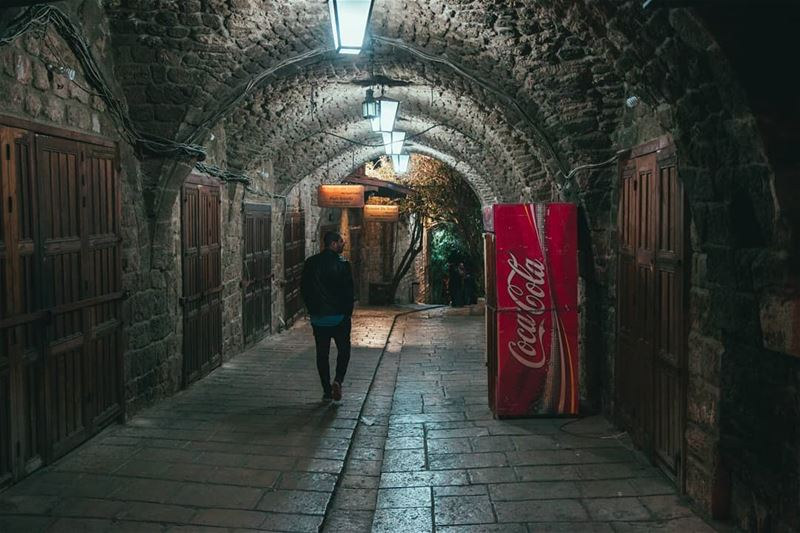 Vintage 📸 👌 Photography photooftheday Shooting OldTown CocaCola ... (Byblos)