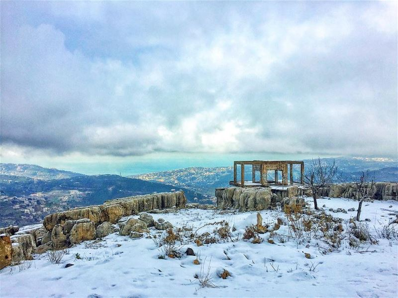 ❄️🎄All I want for Christmas is SNOW 🎄❄️  whpcelebrate  whitechristmas ... (El Mroûj, Mont-Liban, Lebanon)