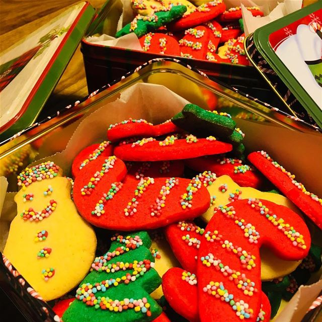 Who Are You Going To Share It With?. christmas christmastree coockies ... (Beirut, Lebanon)