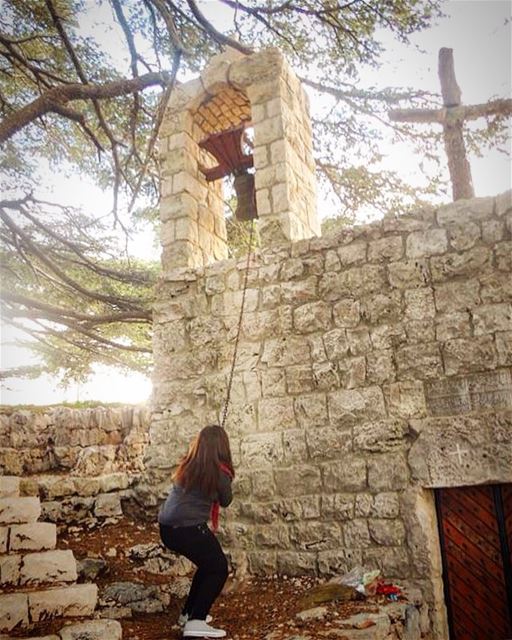 You cannot visit this wonderful place and not ring the bell!  lebanon ... (Arez Jaj)