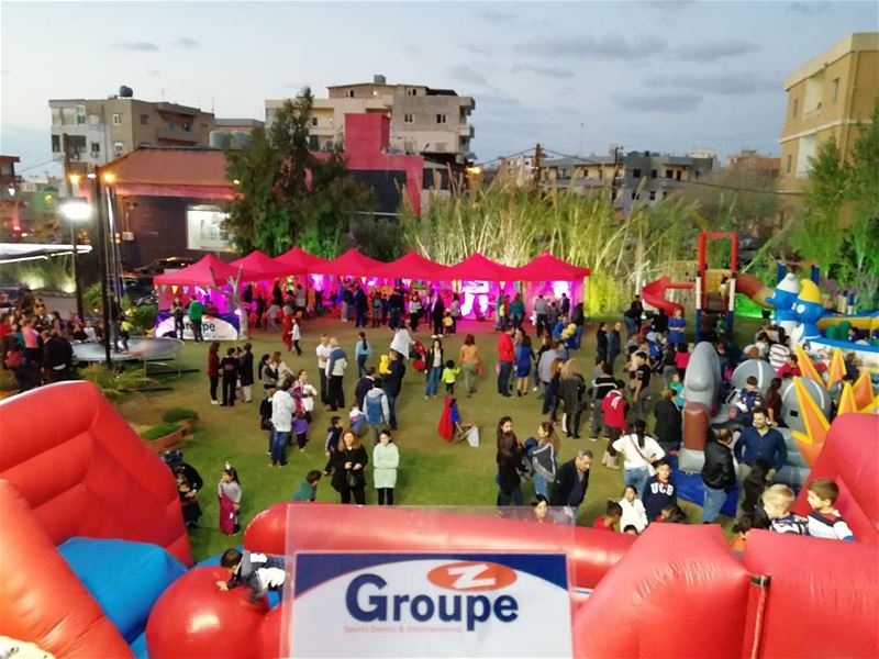 Merry Christmas from Groupe Z groupez kermess inflatable ... (Batrouniyat)