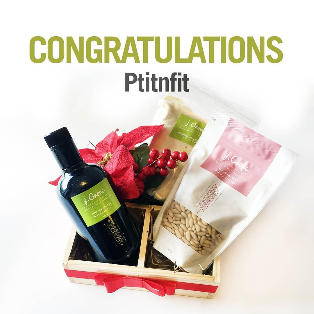 And this gift goes to @ptitnfit! Congrats for winning the draw! 🤗Please...