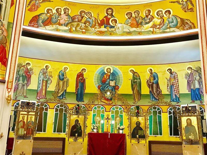 Christ our savior is born .🙏❤️ jesusisborn church catholicchurches ... (جونية - Jounieh)