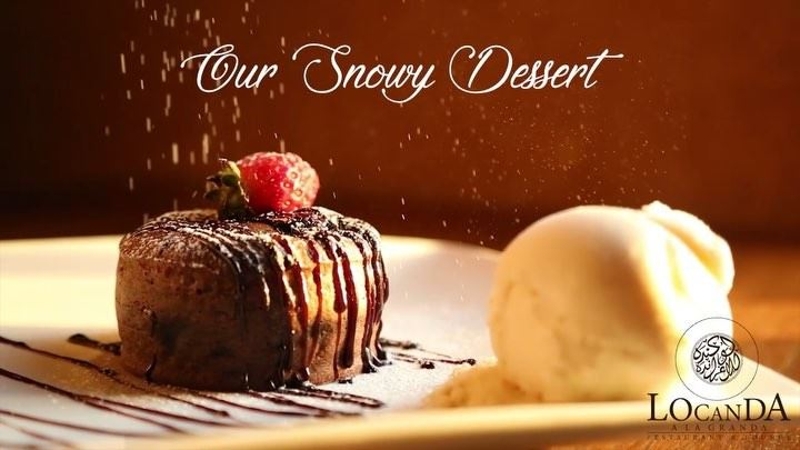 Locanda's Snowy Desset ❄️Follow@locandaalagranda locandaalagranda...
