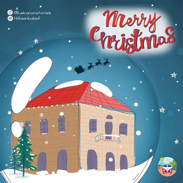 MerryChristmas Christmas christmasspirit xmas HkiliAanBaladi ...