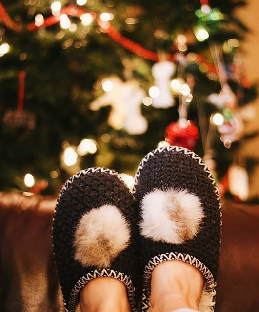 Warm feet in a cold christmas☃❄🎄 (Jwayya, Al Janub, Lebanon)