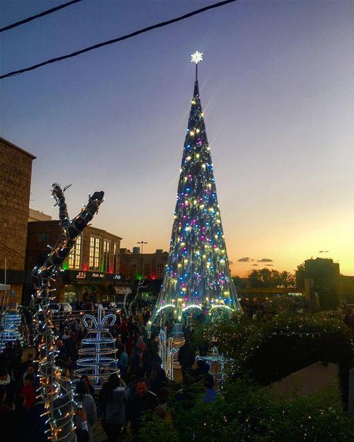 Christmas In Jbeil 🎅🏻🎄🎅🏻🎄 🎅🏻 nature naturephotography lighting... (Jbeil جبيل)