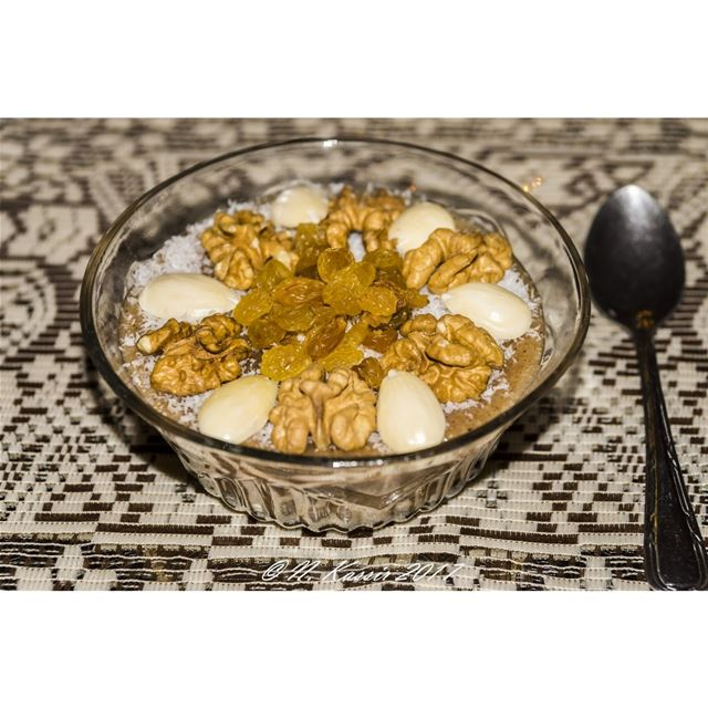 moghli or meghli is a middle eastern dessert usually made when a baby...