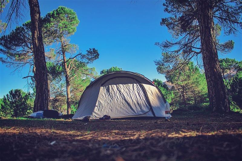 'home is where u pitch ur tent...'''' photography  photographyislife ... (Baskinta, Lebanon)