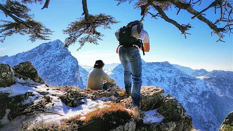Mountains season 🗻🍃📷great shot by @leczenatti 😌---------------------- (Lebanon)