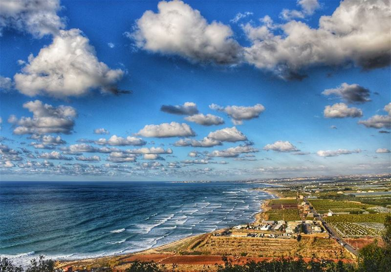 lebanon beirut photography southlebanon sea clouds beach water ... (Naqoura)