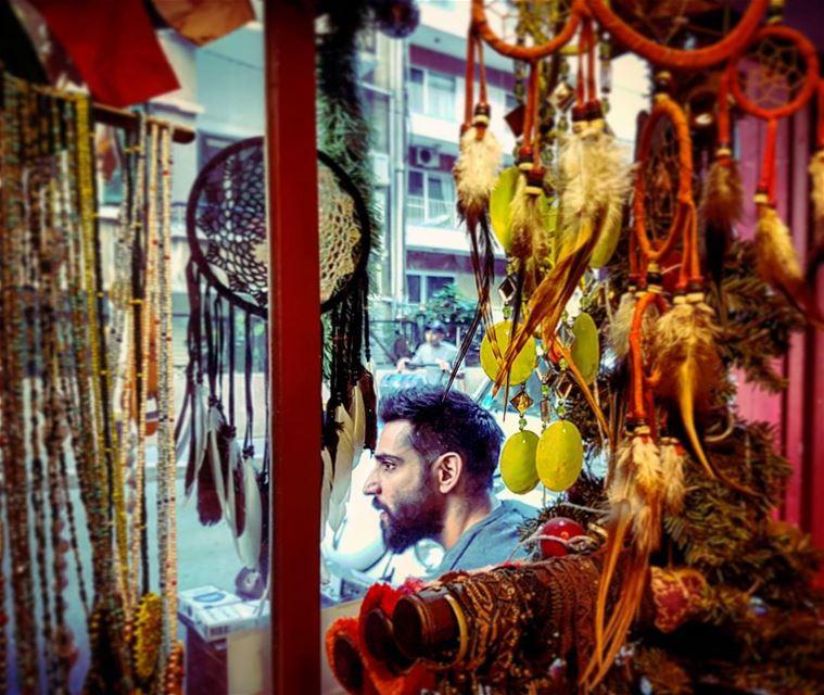 Dreamcatching afternoons citylife streetlife ants hamra beirut ... (Beirut, Lebanon)