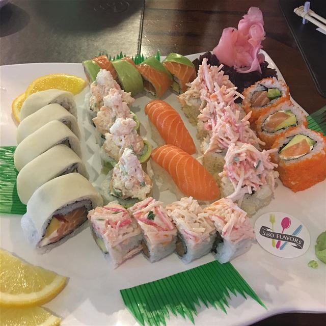 Sushi time 😍😍 @sushiholiclb dbayeh ... 580flavors lebanesefood ... (Dbayhe)