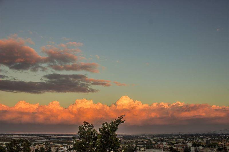 Sunset vibes...🌅 (Heker-Cheikh-taba /Akkar)