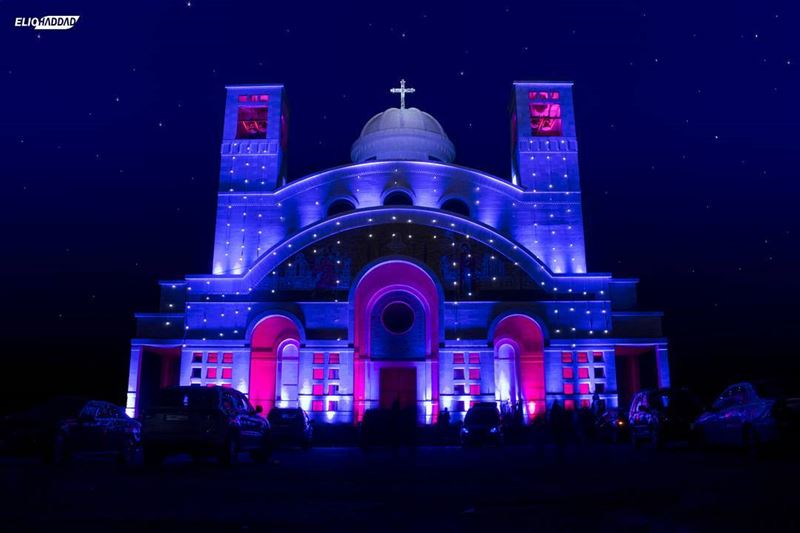 كنيسة سيدة المنيطرة - مغدوشة_________________________ Maghdouche ...