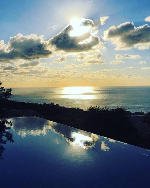 Magic hour from our home 😍 lebanon batroun sunset magichour lebanese... (Batroûn)