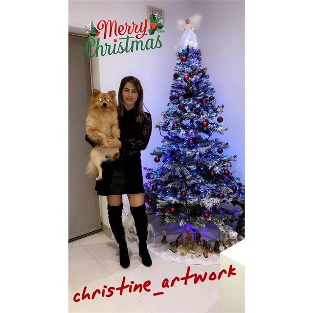 Merry Christmas 🎄🎄🎄@christine_artwork merrychristmas ...