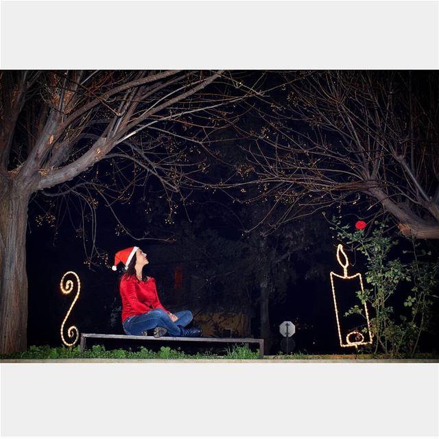 @tatiana_chahine nikon Christmas christmastime christmasspirit red... (سيدة الوادي -بسبعل)