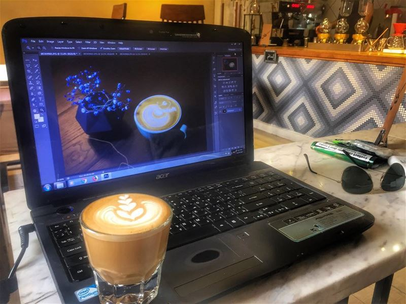 The relationship between a perfect cup of coffee and a photographer is... (Caffeine Kuwait)