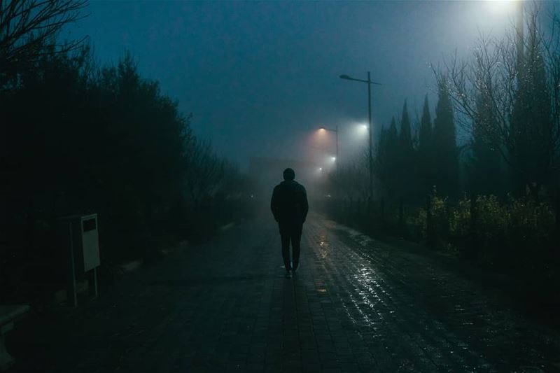 The Fog 🌫️🌧️ Winter Photography photooftheday portrait ... (Jezzîne, Al Janub, Lebanon)