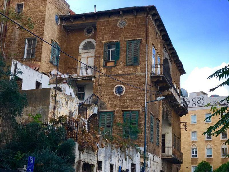 بيروت... بكل بيوتك و شوارعك و تفاصيلك بحبك (Route Bliss)