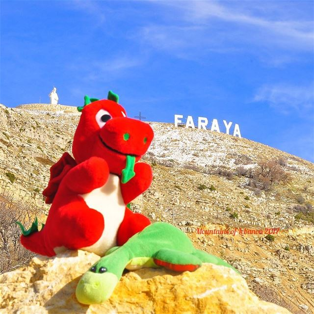 Ness And Griff finally visited the Faraya, Chabrouh site with the Huge... (Faraya, Mont-Liban, Lebanon)