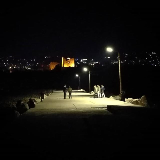 WalkIn Byblos at Night HomeTown Lebanon ... (Byblos - Jbeil)