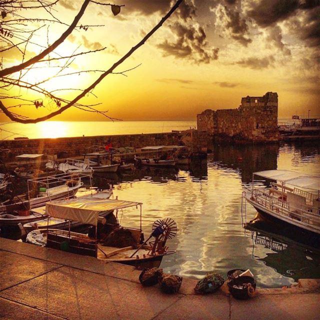 lebanon jbeil sunset instagood wanderlust travelgram welltraveled ...