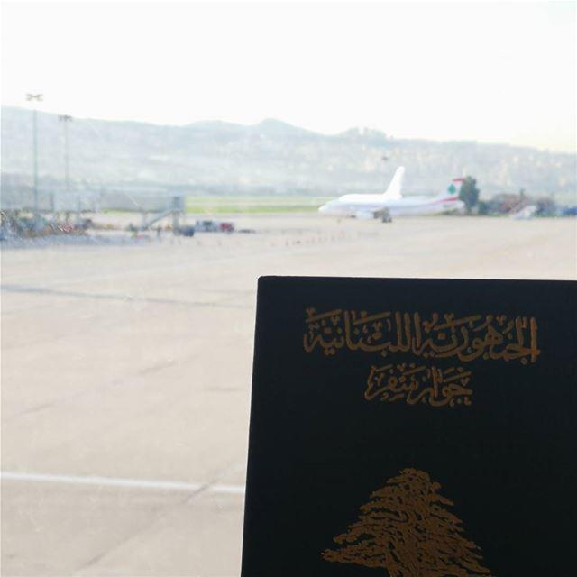 Morning from... ✈️✈️✈️ vacation holidays holidayseason family ... (Beirut–Rafic Hariri International Airport)