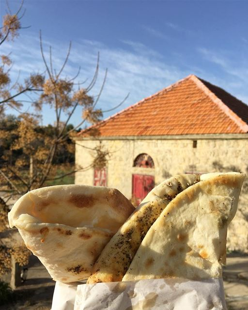 Have you forgotten to have a breakfast in the village? ... then, you have... (Lebanon)