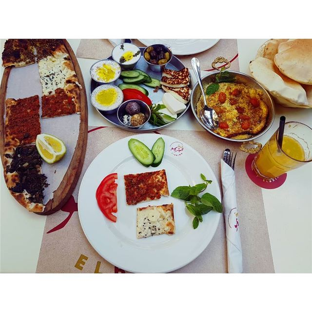 Breakfast is the best part of the day!--- TakeMeTo Beirut Lebanon ... (Salon El Brimo)