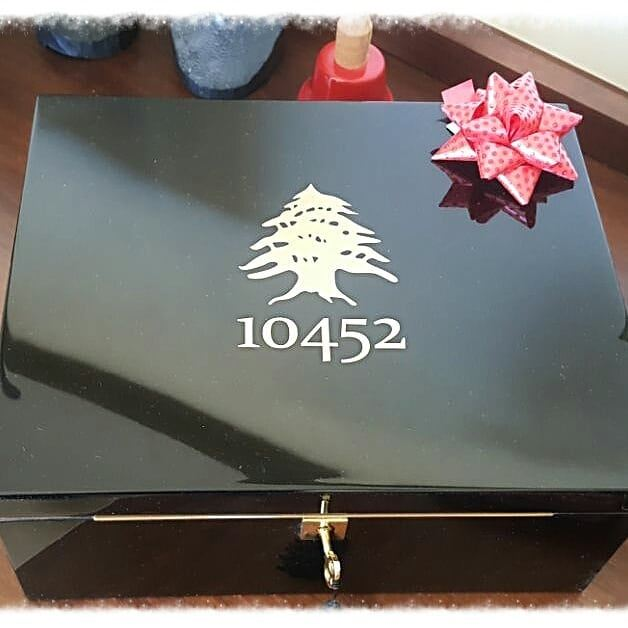 How about this beautiful humidor to say thankyou to your newyeareve ... (Beirut, Lebanon)