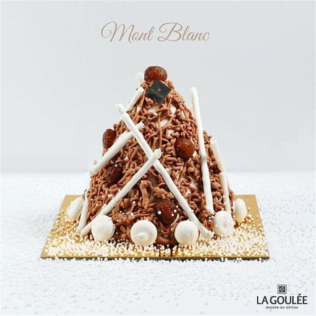 Repost @la.goulee・・・Unveiling the towering Mont Blanc with layers of... (La Goulee)